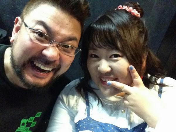 緑慎一郎と細田奈那
