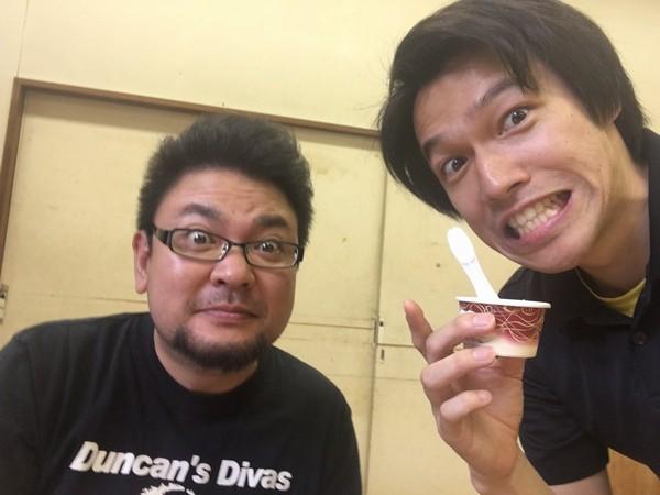 緑慎一郎と酒井俊介