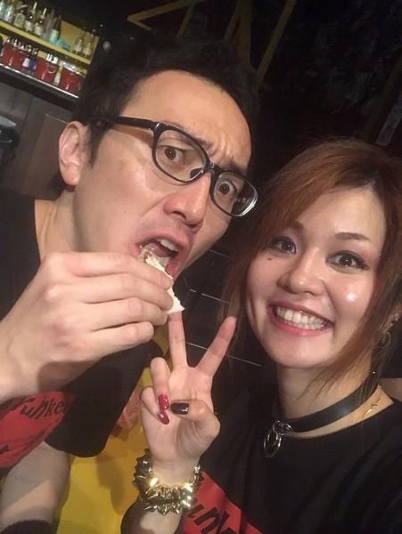 中西浩と薩川朋子